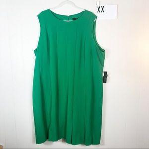 NWT Lane Bryant emerald green dress 26